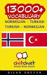 13000+ Norwegian - Turkish Turkish - Norwegian Vocabulary