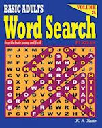 Basic Adults Word Search Puzzles, Vol 3