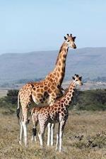 Mother Giraffe and Baby Journal