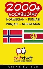 2000+ Norwegian - Punjabi Punjabi - Norwegian Vocabulary