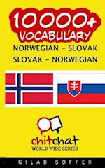 10000+ Norwegian - Slovak Slovak - Norwegian Vocabulary