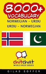8000+ Norwegian - Urdu Urdu - Norwegian Vocabulary