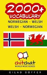 2000+ Norwegian - Welsh Welsh - Norwegian Vocabulary