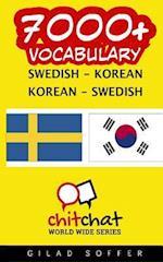 7000+ Swedish - Korean Korean - Swedish Vocabulary