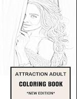 Attraction Adult Coloring Book