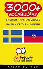 3000+ Swedish - Haitian Creole Haitian Creole - Swedish Vocabulary