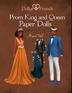 Dollys and Friends, Prom King and Queen Paper Dolls, Wardrobe No