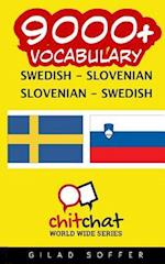 9000+ Swedish - Slovenian Slovenian - Swedish Vocabulary