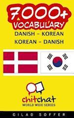 7000+ Danish - Korean Korean - Danish Vocabulary