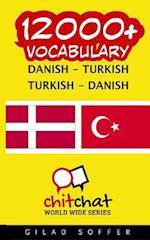 12000+ Danish - Turkish Turkish - Danish Vocabulary