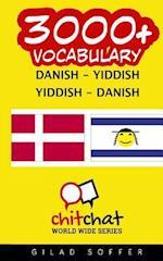 3000+ Danish - Yiddish Yiddish - Danish Vocabulary