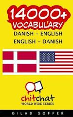 14000+ Danish - English English - Danish Vocabulary