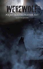 Werewolf Pocket Monthly Planner 2017