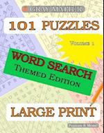 Large Print Themed Word Search Puzzles
