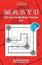 Masyu - 250 Easy to Medium Puzzles 5x5