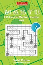 Masyu - 250 Easy to Medium Puzzles 8x8