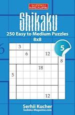 Shikaku - 250 Easy to Medium Puzzles 8x8
