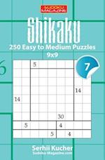 Shikaku - 250 Easy to Medium Puzzles 9x9
