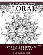 Floral Mandala Patterns Volume 3