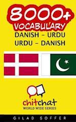 8000+ Danish - Urdu Urdu - Danish Vocabulary
