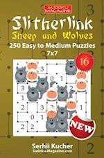 Slitherlink. Sheep and Wolves - 250 Easy to Medium Puzzles 7x7