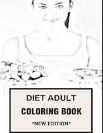 Diet Adult Coloring Book