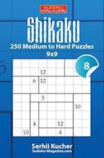 Shikaku - 250 Medium to Hard Puzzles 9x9