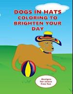 Dogs in Hats Coloring to Brighten Your Day
