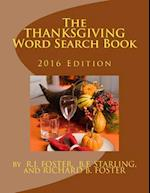 The Thanksgiving Word Search Book