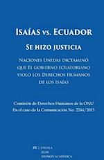 Isaias vs. Ecuador