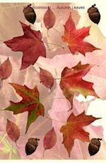 Your Notebook! Autumn Leaves