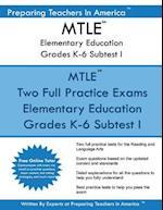 Mtle Elementary Education Grades K-6 Subtest I