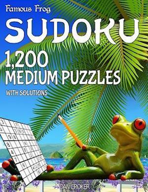 Bog, paperback Famous Frog Sudoku 1,200 Medium Puzzles with Solutions af Dan Croker