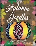 Autumn Doodles Coloring Book