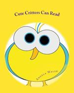 Cute Critters Can Read af Angela Walsh
