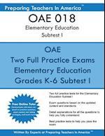 Oae 018 Elementary Education Subtests I