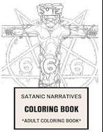 Satanic Narratives Coloring Book