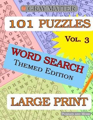 Large Print Word Search Puzzles - Volume 3 af Puzzles and More