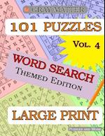 Large Print Word Search Puzzles - Volume 4