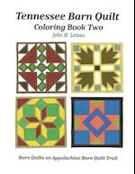 Tennessee Barn Quilt Coloring Book Two