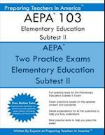 Aepa 103 Elementary Education Subtest II