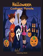 Halloween Costume Parade Coloring Book