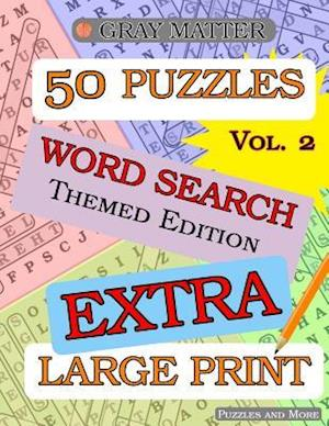 Extra Large Print Word Search Puzzles - Volume 2 af Puzzles and More