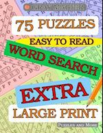 Extra Large Print Word Search