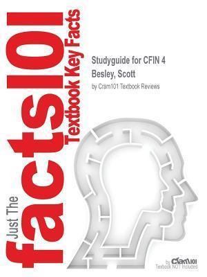 Bog, paperback Studyguide for Cfin 4 by Besley, Scott, ISBN 9781285434605 af Cram101 Textbook Reviews