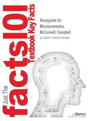 Bog, paperback Studyguide for Microeconomics by McConnell, Campbell, ISBN 9780077924805 af Cram101 Textbook Reviews