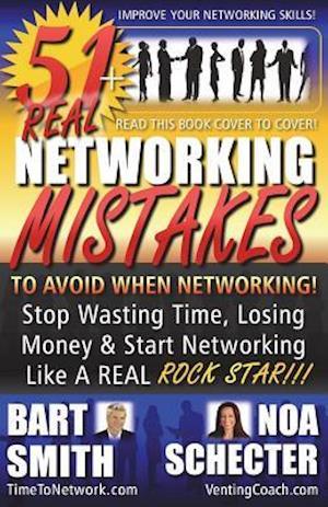 Bog, paperback 51+ Networking Mistakes af Bart Smith
