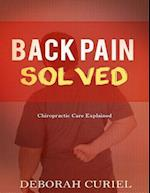 Back Pain Solved