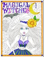 Magical Witches Coloring Book