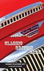 Classic British Cars Weekly Planner 2017